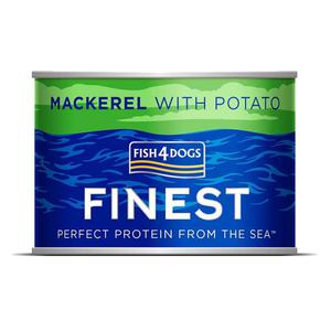 Fish4Dogs Finest Mackerel Complete - Makrela s 185g - 2845411635