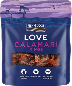 Fish4Dogs Calamari Rings - krążki z kalmarów 75g - 2845411636