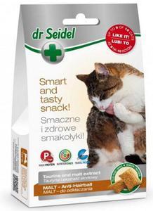 Dr Seidel Smakołyki dla kotów malt - odkłaczanie 50g - 2845411853
