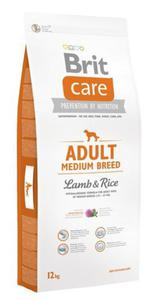 Brit Care New Adult Medium Breed Lamb & Rice 12kg - 2847730568