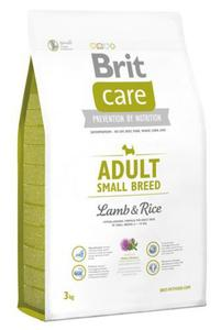 Brit Care New Adult Small Breed Lamb & Rice 3kg - 2848011181