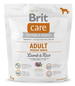 Brit Care New Adult Medium Breed Lamb & Rice 1kg - 2848842098