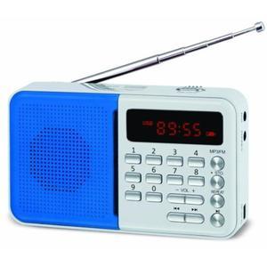 Radio Eltra Koliber PLL srebrno-niebieskie // Wysyłka w 24h - Gwarancja dostępności / 19 lat...