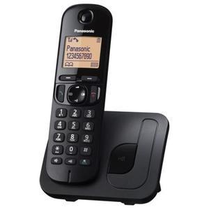 Telefon bezprzewodowy Panasonic KX-TGC210PDB czarny // Wysyłka w 24h - Gwarancja dostępności / 20...