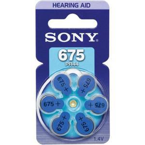 Bateria Sony PR675/PR44 do aparatu słuchowego - komplet 6 sztuk // Wysyłka w 24h - Gwarancja dostępności - 2826418129