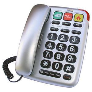 Telefon Dartel LJ-300 srebrny // Wysyłka w 24h - Gwarancja dostępności / 19 lat najwyższej jakości / Doradztwo przed zakupem - 2835632049
