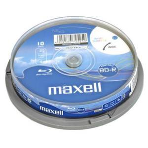 Płyta Maxell BD-R BluRay 25GB x4 print C10 // Wysyłka w 24h - Gwarancja dostępności - 2834107551