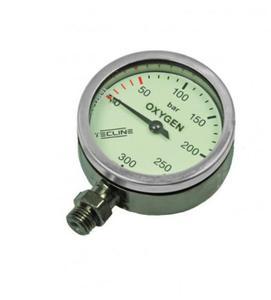 Manometr TecLine O2 300 bar 52 mm - 2850301687