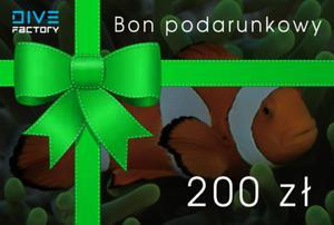 Bon podarunkowy 200zł - 2850302389