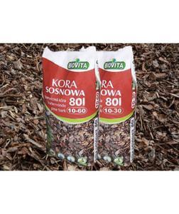 Kora mielona sosnowa BIOVITA 10-60 mm 80L PALETA 40 worków - 2832210680