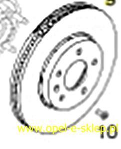 Tarcza hamulcowa przednia - 2827259214