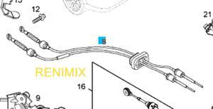 Linka zmiany biegów F40 - 2863444409