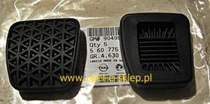 Nakładka na pedał sprzęgła lub hamulca - 2827259610