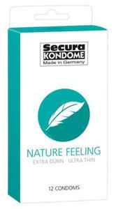 Cienkie Prezerwatywy Secura Nature Feeling 12 Szt. - 2890171203