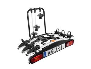 Platforma na hak Aguri Active Bike bagażnik na 3 rowery uchylna - 2848509734