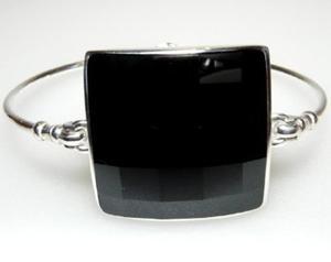 Jedyna bransoletka krysztal SWAROVSKI CZARNY - 2823481208