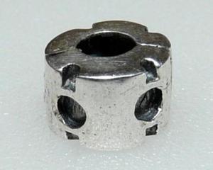 Srebrny 925 koralik modułowy stoper klips - 2823480475