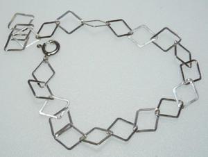 Łancuszek baza 925 bransoletka charms - 2823480813