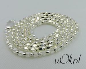 Łańcuszek koreanka srebro 925 50 cm - 2823480685