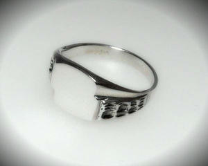 Sygnet r. 27 srebro 925 - 2823481309