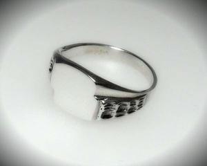 Sygnet r. 28 srebro 925 - 2823481310