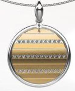 Wisiorek srebro złocone - 2823481468