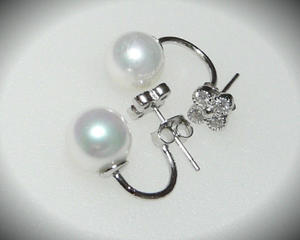 Kolczyki gwiazd kulki perła kryształki celebrytki - 2823481025