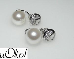 Kolczyki gwiazd kulki perła kryształki celebrytki - 2823481048