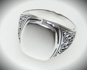 Filigran sygnet r. 30 srebro 925 - 2823481336