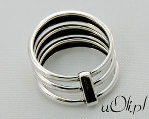 Pierścionek srebro 925 rozmiar 17 - 2823480660