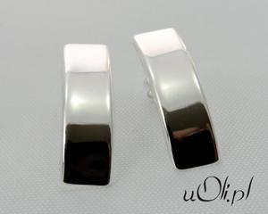 Kolczyki rynienki srebro sztyft - 2823481101