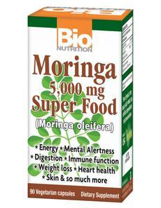 Moringa 5000 mg -Bio Nutrition Moringa 5000 mg -Bio Nutrition