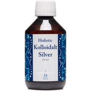 Holistic Kolloidalt Silver srebro koloidalne dejonizowana woda i jony srebra 10 mg na litr 10 ppm - 250 ml Koloidalne srebro, woda srebrowa - 2843326232