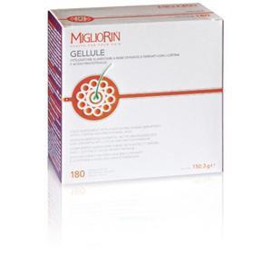 MIGLIORIN Gellule 45 - 180 tabl. - witaminy i minerały wzmacniające włosy i paznokcie - 2843326251
