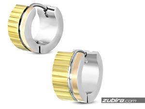 Kolczyki złote dla faceta - 2840700713