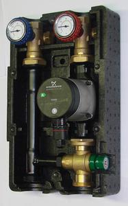 Grupa Mieszająco-Pompowa SMTC 2 regulacja 35 - 60 C, pompa 25 - 70 Grundfos - 2866220888