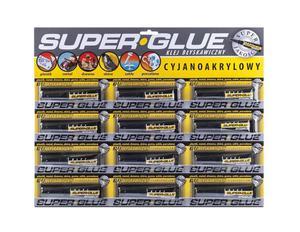Klej NEW Super Glue 3g 12szt - 2858788373