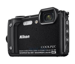 Nikon Coolpix W300 czarny Holiday Kit + plecak - 2859484894