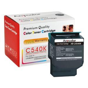 LEXMARK C540 C540H1KG BLACK Anycolor - 2835655011