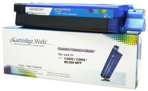OKI C5850 43865723 CYAN Cartridge Web - 2835655155