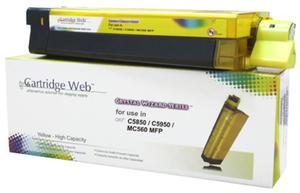 OKI C5850 43865721 YELLOW Cartridge Web - 2835655156