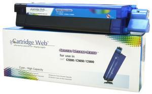 Toner Cyan OKI C5650 43872307 Cartridge Web - 2835655292