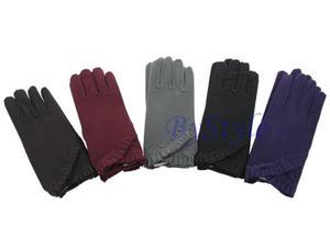 Eleganckie rękawiczki z koralikami - 2822285908