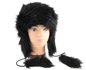 Zimowa czapka futrzana uszatka - 2822285943