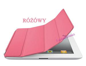 SMART COVER (zamiennik) do iPad 3 4- różowy - 2822286002