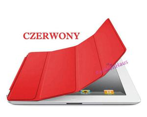 SMART COVER (zamiennik) do iPad 3 4 - czerwony - 2822286003