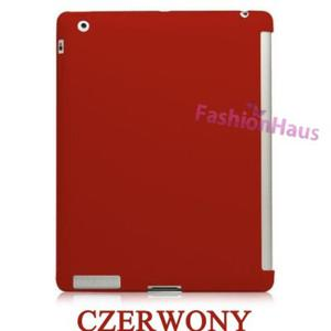 APPLE COVER do iPad 2- czerwony - 2822286010