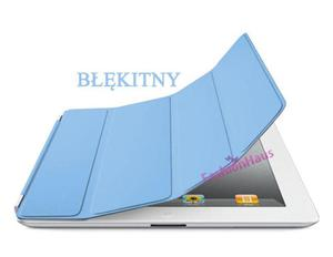 SMART COVER (zamiennik) do iPad2- błękitny - 2822286015