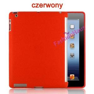 Plecki APPLE COVER Do iPad3- czerwony - 2822286023