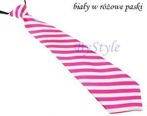 Elegancki satynowy krawat damski - 2822285902